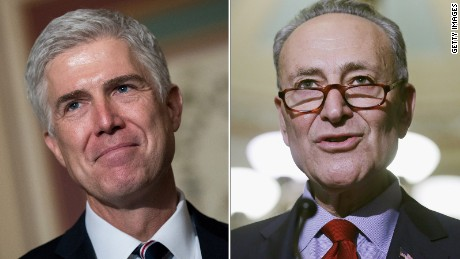 Key Democrats will filibuster Gorsuch