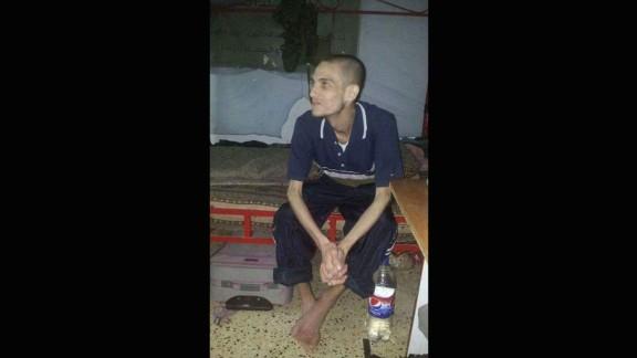 Former Syrian detainee Omar Al-Shogre