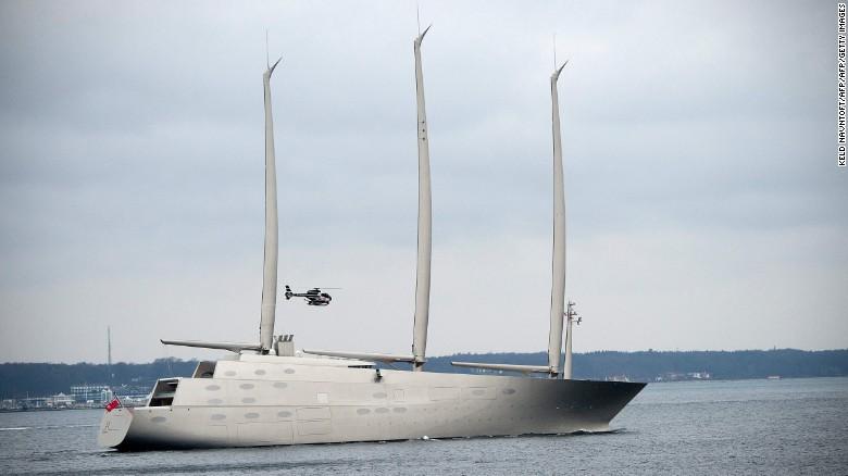 Sailing Yacht A: the world's tallest yacht