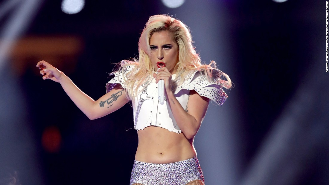 Lady Gaga responds to Super Bowl body shaming - CNN