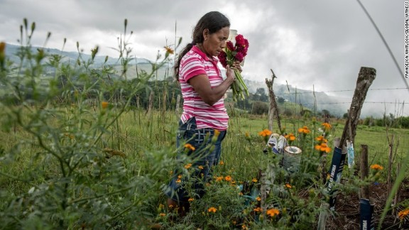 The body of Julia Francisco Martinez's husband, Francisco Martinez Marquez, was found dismembered in 2015 after receiving death threats for protesting the dam.