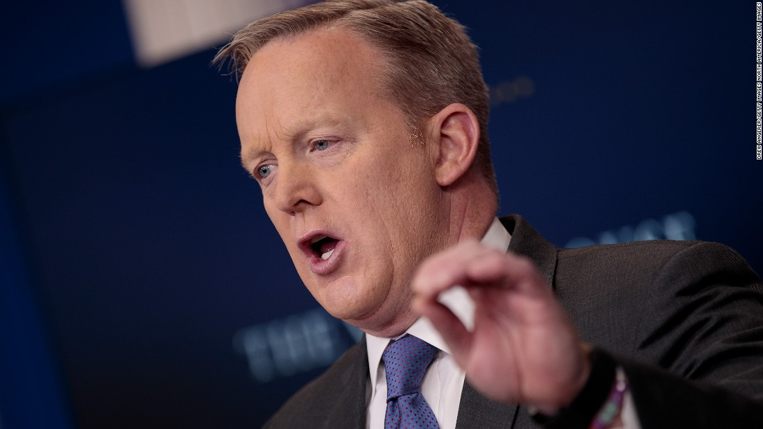 Official: Spicer misspoke on attack, meant Orlando, not Atlanta