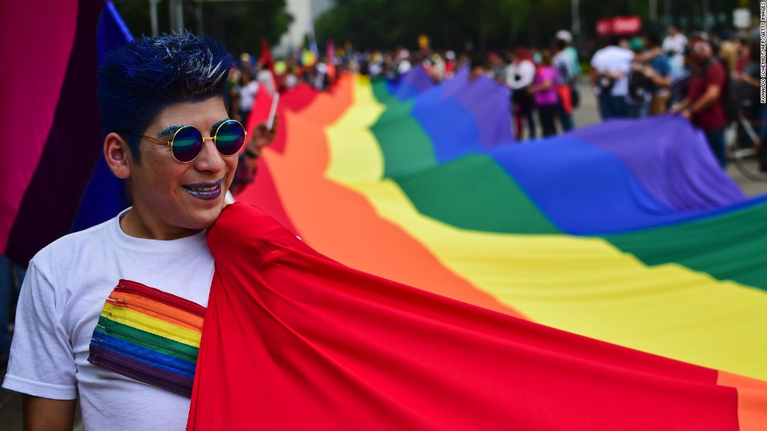Thousands participated in the gay pride parade in Mexico City on June 25, 2016. Same-sex marriage has been legal in Mexico City since 2010. It is also legal in some Mexican states. Mexican President Enrique Peña Nieto has vowed to push for a countrywide law.