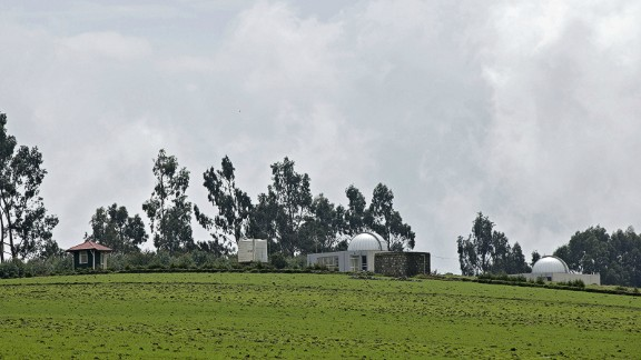 The Entoto Observatory and Research Center which is located on the outskirts of Addis Ababa.