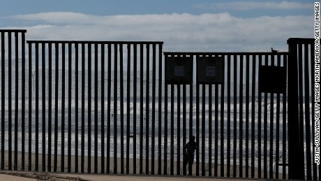 SAN DIEGO, CA - FEBRUARY 04:  A man looks on from the Mexico side of the U.S. and Mexico border fence near Border Field State Park  on February 4, 2017 in San Diego, California. Friends and families gather at Friends of Friendship Park for several hours on Saturdays and Sundays on the U.S. side of the border fence along Tijuana, Friends of Friendship Park allows public access to the park on the U.S. side of the border for four hours on weekend days for friends and families separated by deportation or by mixed immigration status to communicate through the fence.  (Photo by Justin Sullivan/Getty Images)