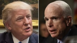 When Trump trashes McCain, we mustn't look away