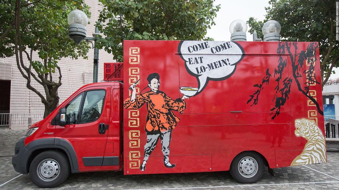 Hong Kongs First Food Trucks Roll Out Cnn Travel