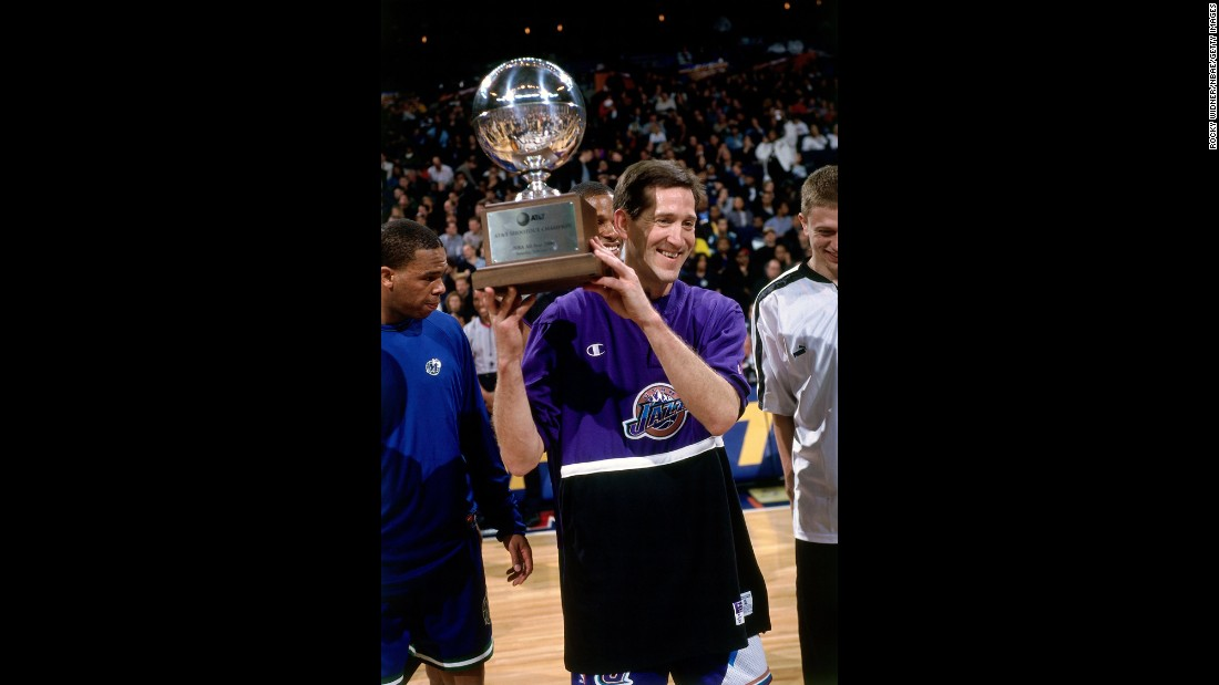 <strong>Lowest score to win:</strong> Utah's Jeff Hornacek won his second 3-point title in 2000, but he didn't have his best performance. The current coach of the New York Knicks only scored 13 points in the final round that year.
