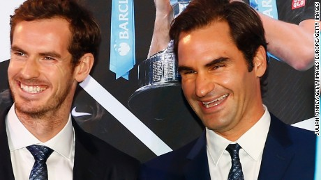 Roger Federer has only competed in London -- at Wimbledon and the O2 -- when in Britain