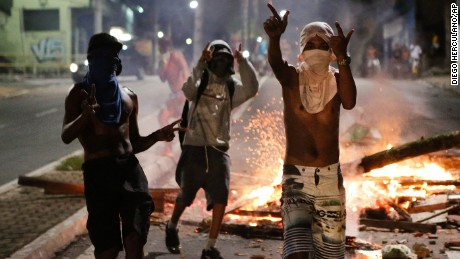 Wave of deadly violence follows police walkout in Brazilian city