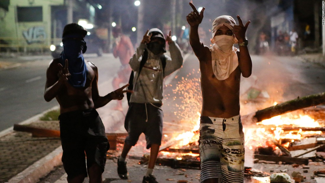 wave of deadly violence follows police walkout in brazilian city cnn