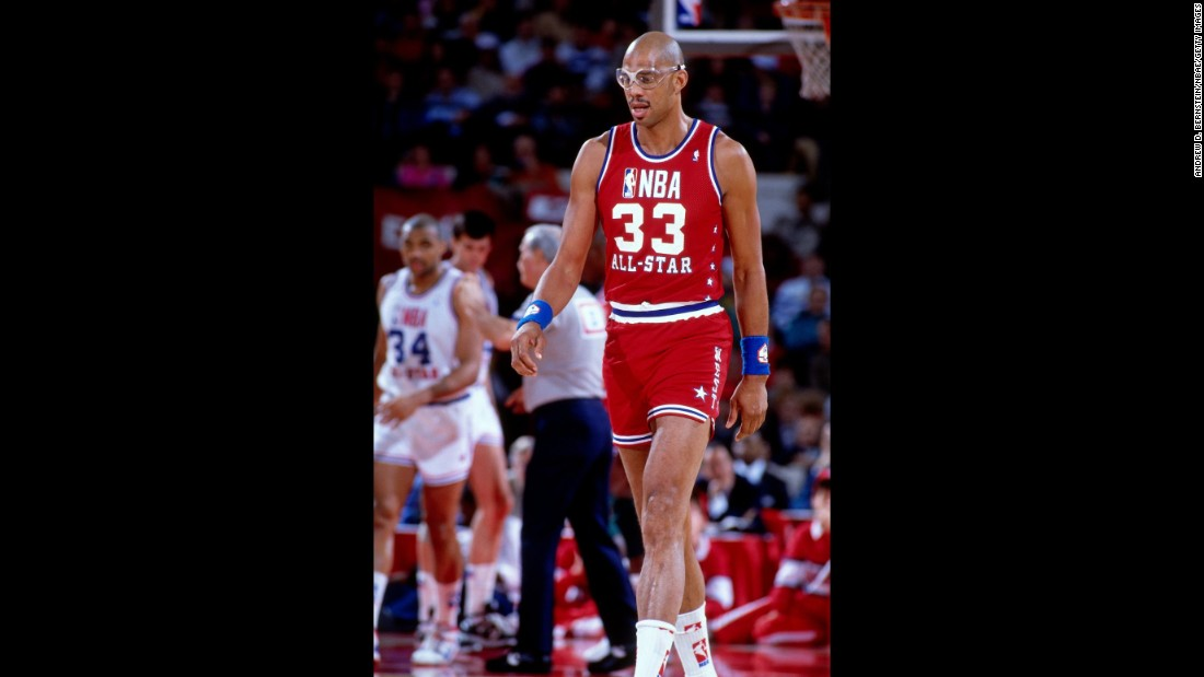 <strong>Most appearances as a player:</strong> Hall of Fame center Kareem Abdul-Jabbar was named to 19 All-Star teams during his career, and he played in 18 of the games.