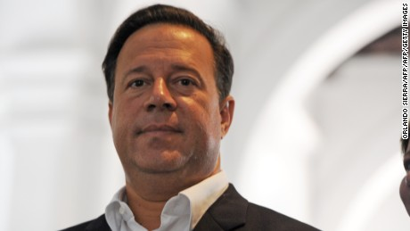 Panamanian presidential candidate Juan Carlos Varela, of the Panamenista Party (PP), looks on in Panama City, on May 3, 2014 on the eve of presidential elections.    AFP PHOTO/Orlando SIERRA.        (Photo credit should read ORLANDO SIERRA/AFP/Getty Images)