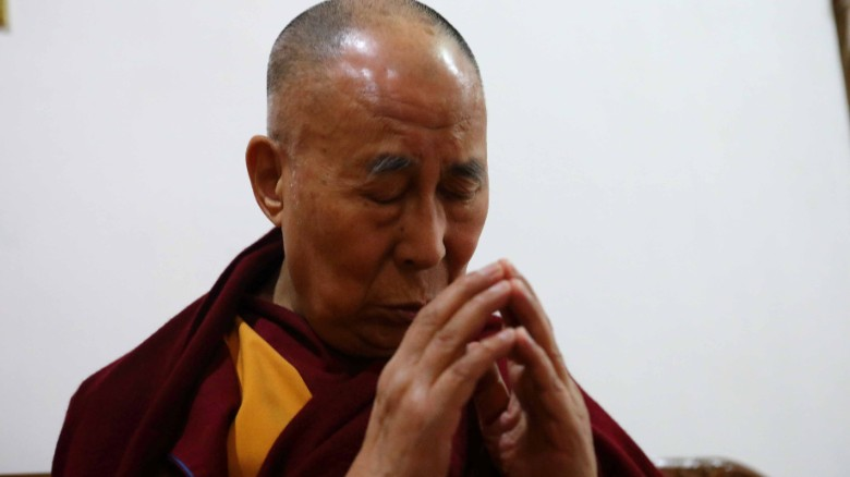 The Dalai Lama says he meditates five hours a day.