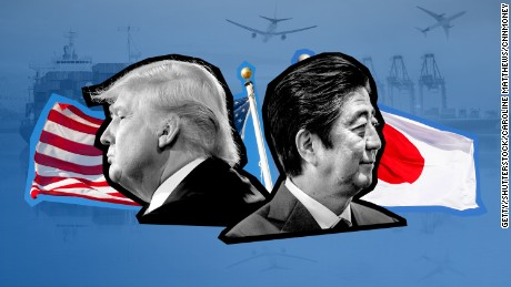 When Trump meets Abe, they need to talk beef