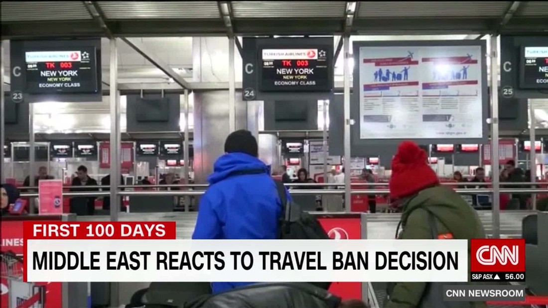 Middle East Travel Ban