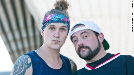 Kevin Smith and Jason Mewes in 2015 (Photo by Sarah Keayes/Getty Images)