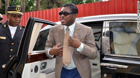 Teodorin Nguema Obiang, Vice-President of Equatorial Guinea, agreed to a deal that allowed proceeds of corruption from the country to be repatriated through a trust partly overseen by the US.