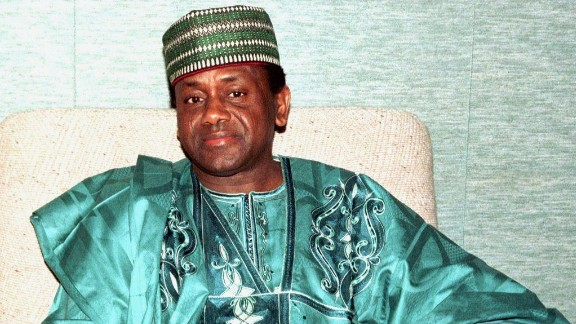 Former Nigerian President General Sani Abacha is believed to have stolen over $4 billion during his time in office.