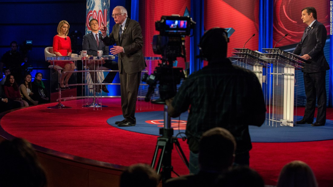 "US Sen. Bernie Sanders speaks in Washington during a debate with US Sen. Ted Cruz on Tuesday, February 7. The event, hosted by CNN, <a href=""http://www.cnn.com/2017/02/07/politics/obamacare-cruz-sanders-highlights/"" target=""_blank"">discussed the future of health care</a> in the United States."