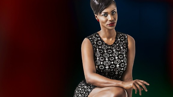 Lagos-born Kiki Omeili has been in 32 Nollywood movie productions.