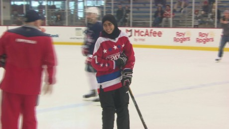 Hockey Star's Journey from Abu Dhabi to D.C