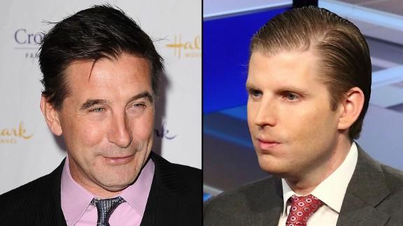 Billy Baldwin and Eric Trump