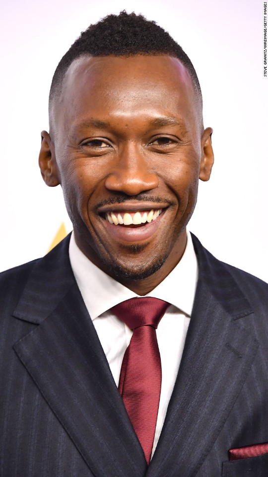 "Mahershala Ali is nominated for best performance by an actor in a supporting role in ""Moonlight."""