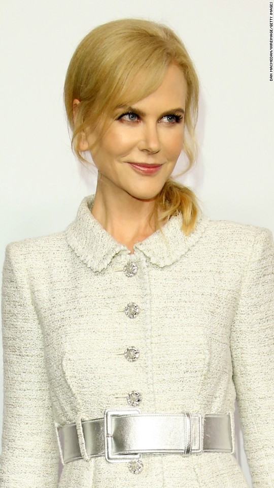 "Nicole Kidman is nominated for best performance by an actress in a supporting role in ""Lion."""