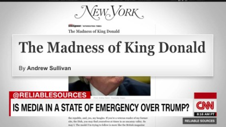 exp Is the media in a state of emergency over President Trump? _00070102