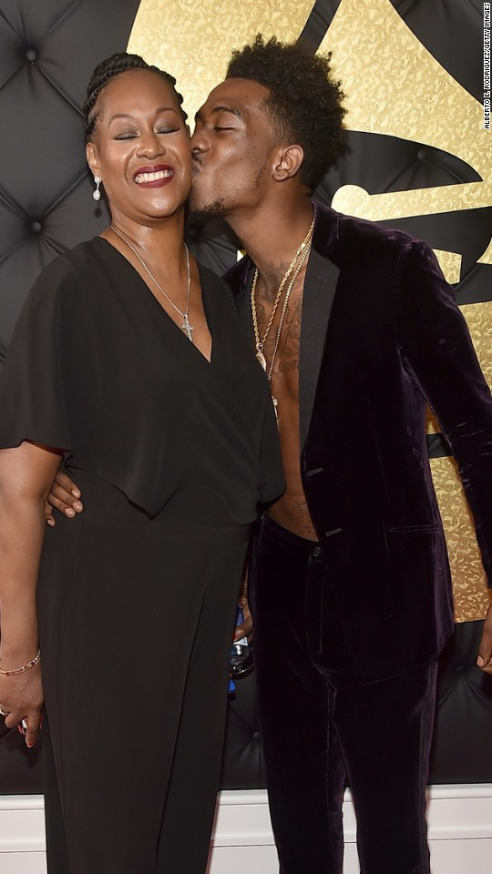 Desiigner and his mother
