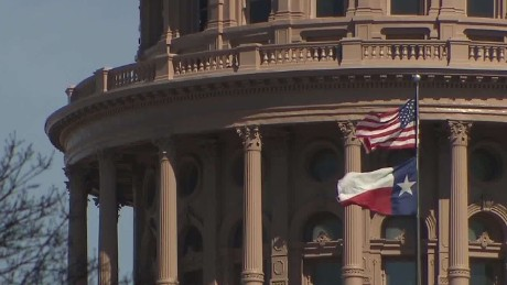 Texas governor cuts funds to 'sanctuary city'