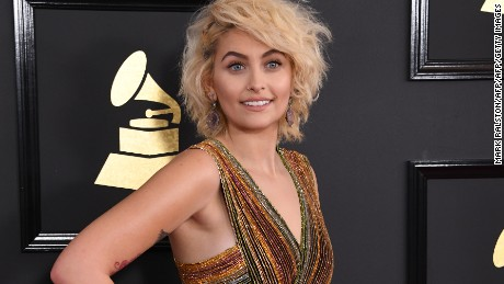 Paris Jackson at the Grammy Awards on February 12, 2017.
