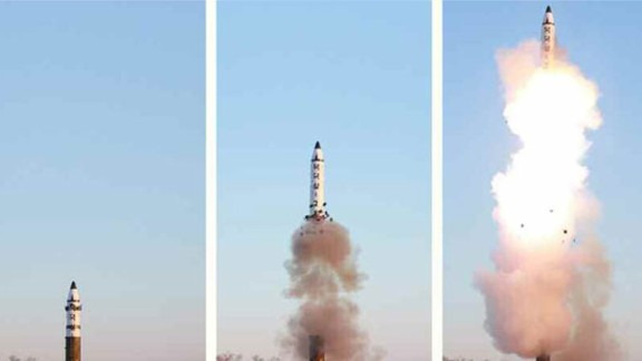 A new type of intermediate-range missile, the Pukguksong-2, was launched by North Korea on February 12.   It was their first launch since US President Donald Trump took office.