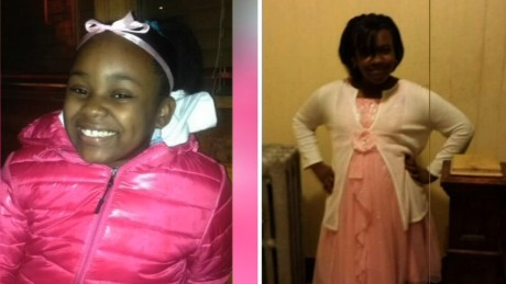Two girls, ages 11 and 12, were both shot in the head in unrelated shootings that took place within an hour of each other in Chicago. Takiya Holmes, left, died Tuesday. Kanari Gentry-Bowers was in critical condition.