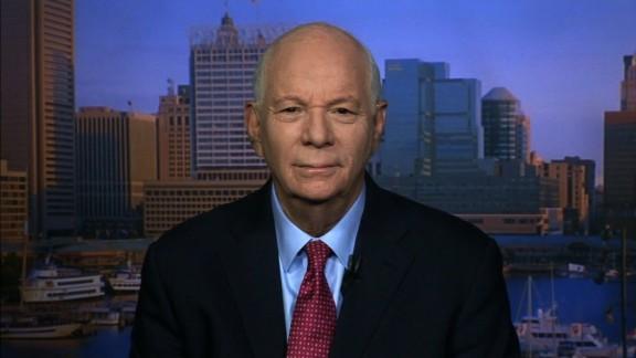 Democrat Sen. Ben Cardin says terrorist groups are using President Donald Trump