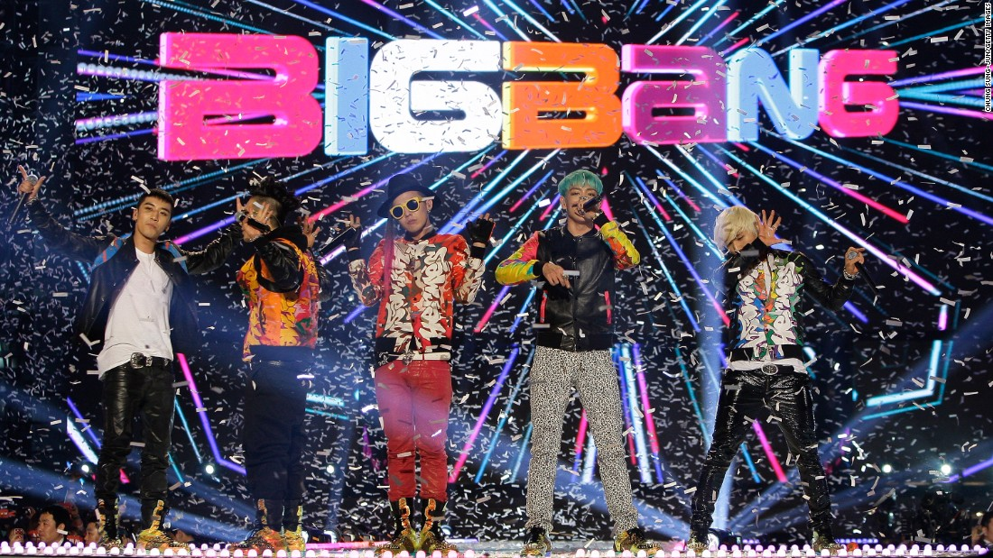 Big Bang's concert on March 11, 2012 in Seoul, South Korea. The group performed their last concerts in January after announcing they would go on hiatus to complete their military service.