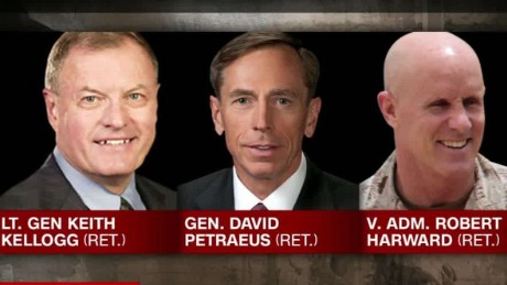 Michael Flynn replacements david petraeus keith kellogg bob harward intv es_00000527