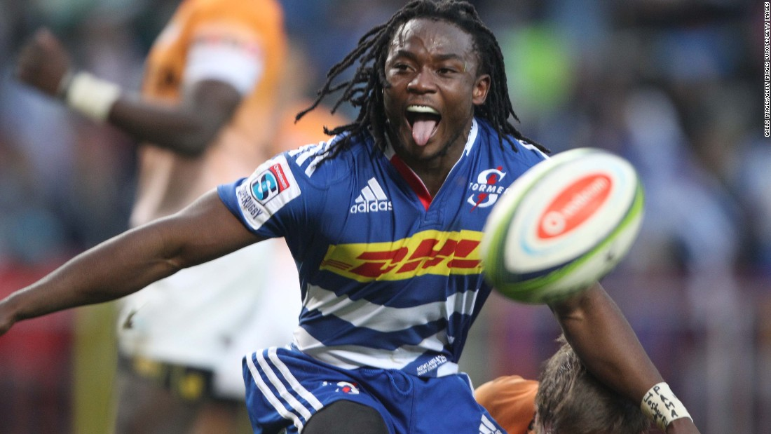 The 23-year-old has now turned his focus to the 15-a-side game, and will play for South African team the Stormers in Super Rugby -- the southern hemisphere competition in which he briefly played in 2014.