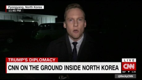 CNN in North Korea after missile launch