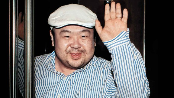 In a picture taken on June 4, 2010 Kim Jong-Nam, the eldest son of North Korean leader Kim Jong-Il, waves after an interview with South Korean media representatives in Macau.  Kim Jong-Nam was in the limelight with Seoul