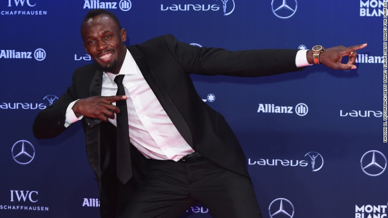 Usain Bolt wins Laureus Sportsman of the Year