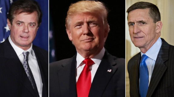 Paul Manafort President Donald Trump Michael Flynn