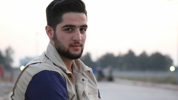 Khatib says he hopes he can continue his studies and pursue a career in journalism.