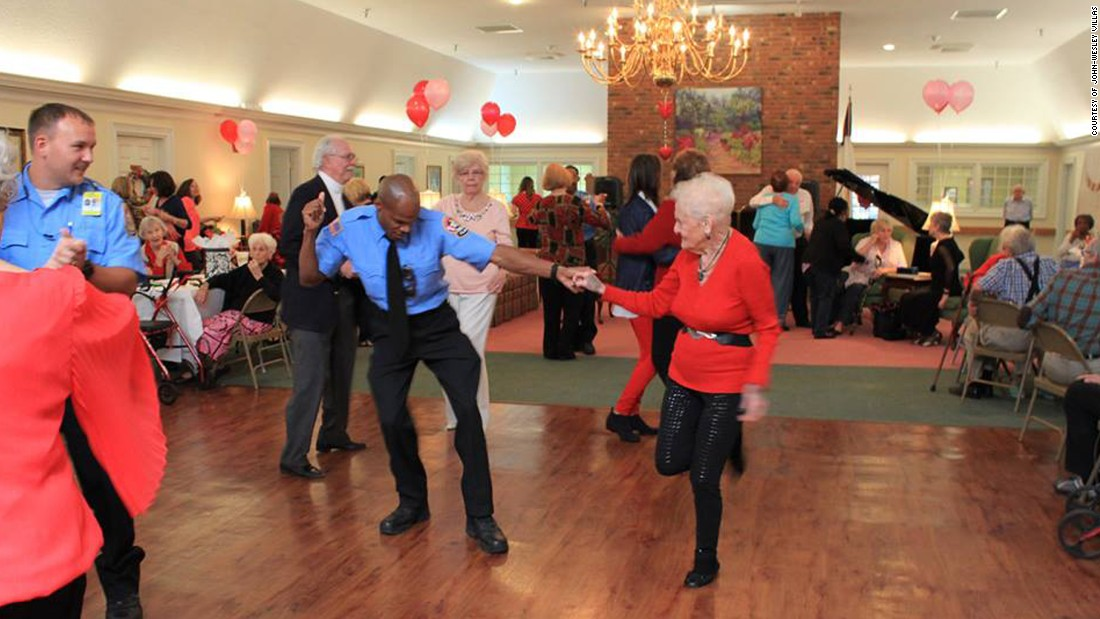 Firefighters Join Seniors At Valentine S Day Dance Cnn