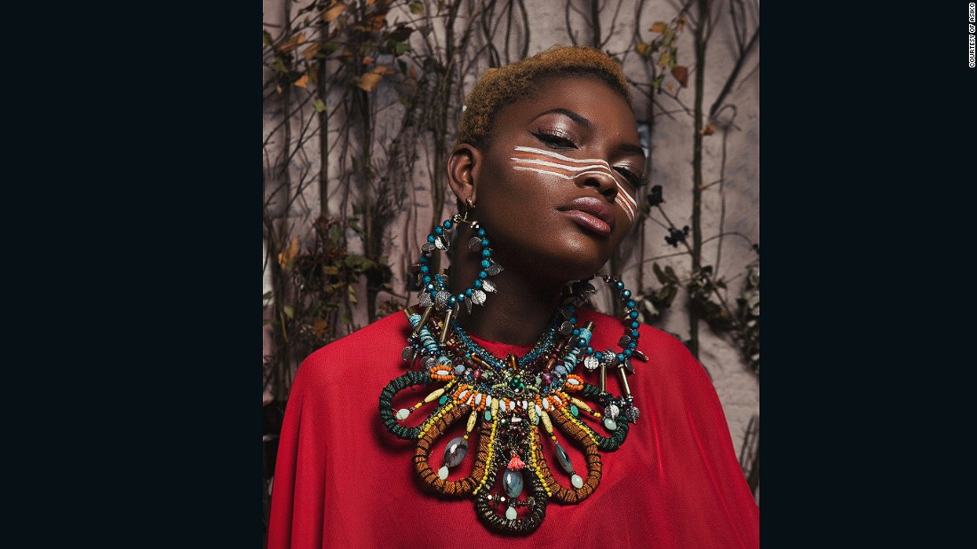 """No one in my family followed her path and she left so much of a gap for me to fill,"" continues Quansah. Her grandmother was the head designer for the king of Onitsha Obi  of Onitsha"