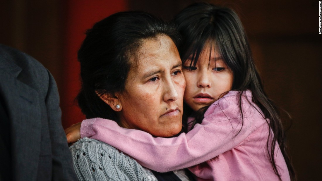 Image result for Mexican refugee mother and daughter