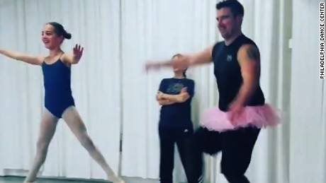 Dads Doing Ballet With Their Daughters