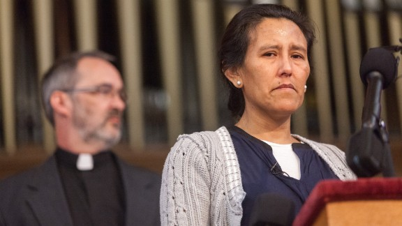 Wednesday was Jeanette Vizguerra's 64th night living in the church
