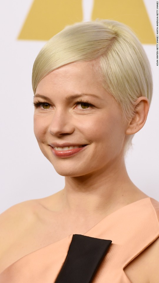 "Michelle Williams is nominated for best performance by an actress in a supporting role in ""Manchester by the Sea."""